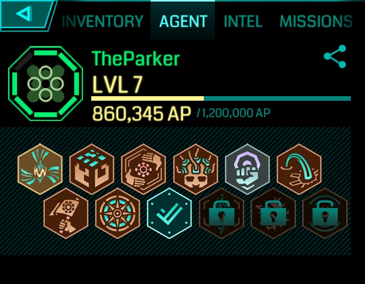 Ingress: Recent achievements – amidoinitrite?